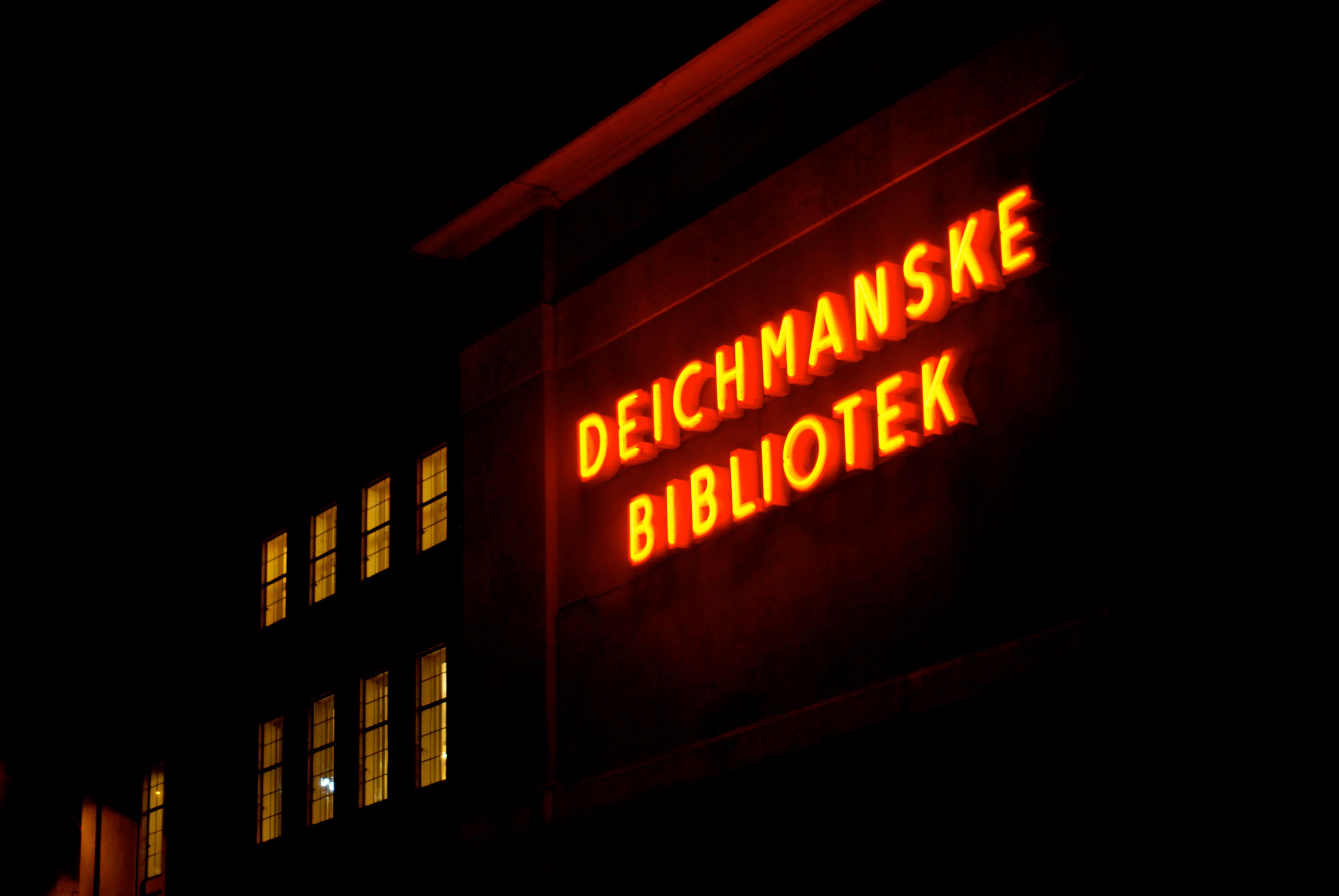 deichmanske bibliotek majorstuen